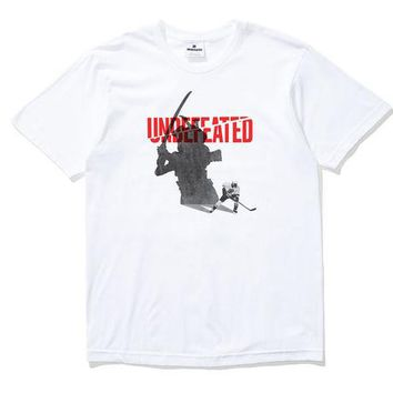 ONETOW Undefeated Shadow Blades Tee In White