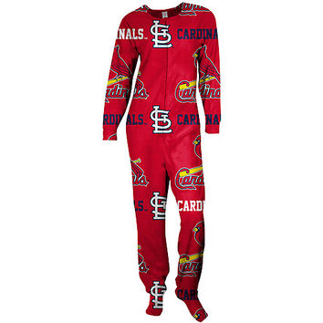 St. Louis Cardinals Highlight Footie Pajamas by Concepts Sport