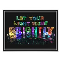 Let Your Light Shine Brightly Photographic Print