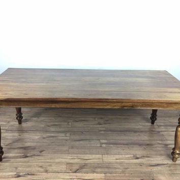 Reclaimed Indian Hardwood Dining Table