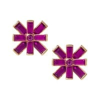 Banana Republic Starburst Stud Earring Size One Size - Pop pink