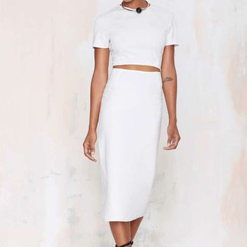 Nasty Gal Visionary Cutout Dress