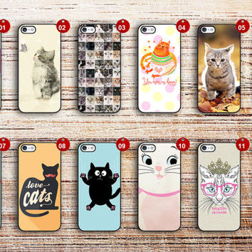 samsung galaxy s5 case kitty cover for s3 s4 s5 s6 edge a3 a5 a7 note 3 note 4 note edge active mini cat