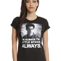 Teen Wolf Always Little Spoon Girls T-Shirt