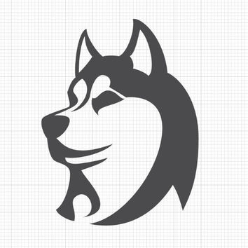 Husky - Dog Decals - C2056