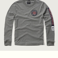Logo Graphic Long Sleeve Tee