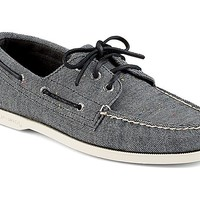 Authentic Original Fleck Canvas 3-Eye Boat Shoe