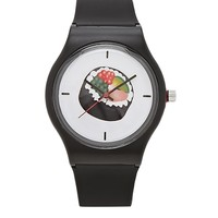 Sushi Graphic Analog Watch