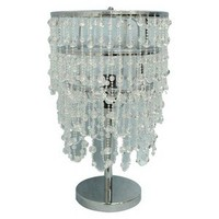Xhilaration® Beaded Table Lamp - Clear (Includes CFL Bulb)