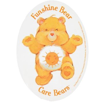 DCCKU3R Care Bears - Funshine Bear Decal