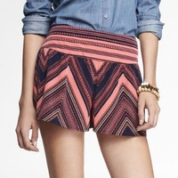3 INCH PRINTED WIDE WAISTBAND SOFT SHORTS