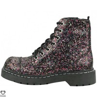 Dazzel Glitter 7 Eye | COMBAT BOOT