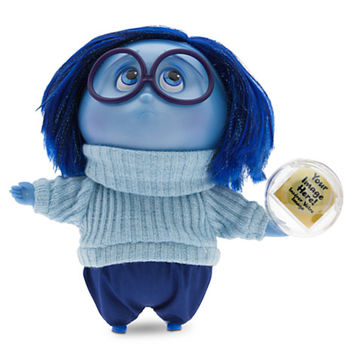 Sadness Deluxe Talking Doll - Inside Out - 7 1/2'' H