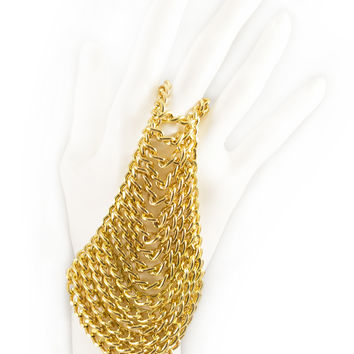 LAUREL DEWITT Side Drape Chain Hand Piece - 50% OFF