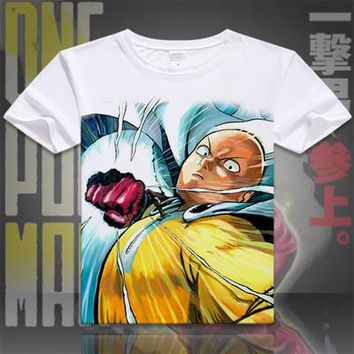 One Punch Man Short Sleeve Anime T-Shirt V15