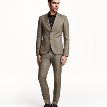 H&M Cotton Twill Slacks $34.99