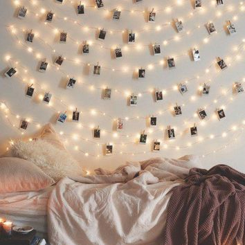 LED Photo Clip Battery Operated String Lights Day-First™