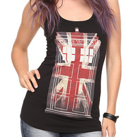 Doctor Who TARDIS Union Jack Girls Tank Top | Hot Topic