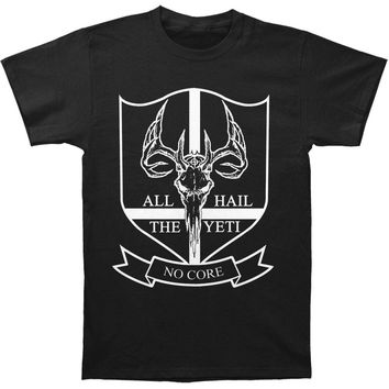 All Hail The Yeti Men's  No Core T-shirt Black