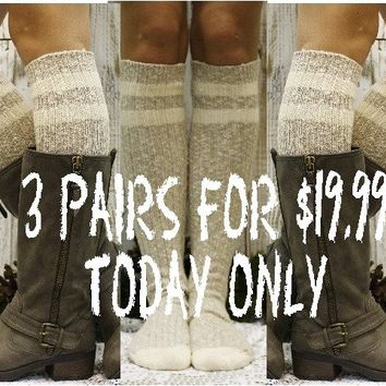 FREE SPIRIT - Fab Friday Promo - 3 pairs