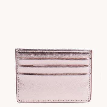 METALLIC CARD HOLDER - What's New