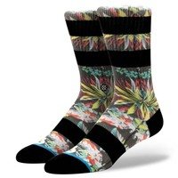 Stance | Kamea Multi, White, Black, Red, Green, Forest Green socks | Buy at the Official website Main Website.
