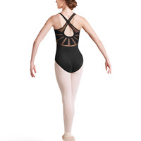 Adult X Back Tank Leotard L8715