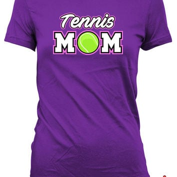 Tennis Shirts For Moms Tennis Mom Shirt Mothers Day Gifts Tennis Lover Shirt Tennis Gifts For Mom Sports Fan Gifts Ladies Tshirt MD-623