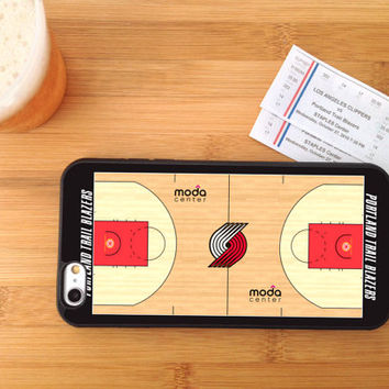NBA Teams Basketball Court, Custom Phone Case for iPhone 4/4s, 5/5s, 6/6+ and iPod Touch 5