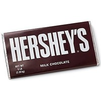 Hershey's Milk Chocolate Candy Bar, 5-Pound Bar