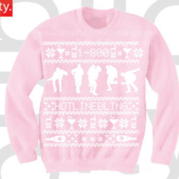 1-800 HOTLINE BLING Ugly Christmas Sweater