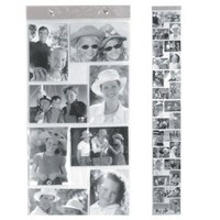 Kikkerland Horizontal and Vertical 4 by 6-Inch Photo Strip, X-Large