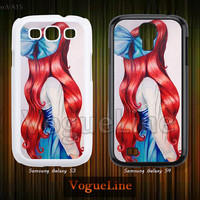 Disney, The little mermaid Ariel Samsung Galaxy S4 case, Galaxy S3 case, Phone Cases Phone Covers, Skins, Case for Samsung VA15
