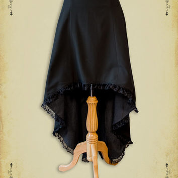 Steampunk clothing skirt steam punk clothing medieval Miss Delphine skirt Victorian costume