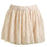 Ditsy Lace Mini Skirt | Shop Bottoms at Wet Seal