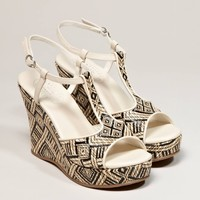 AEO Artisan Wedge Sandal - American Eagle Outfitters