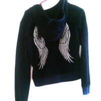 Angel Wings Jacket- Juicy Couture Jacket - Size S/M - Girls XL 14/16