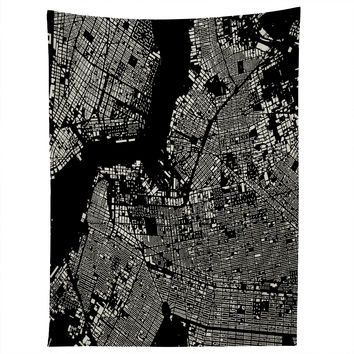 CityFabric Inc Brooklyn Black Tapestry