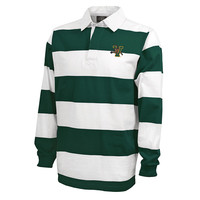 Classic Wide Stripe V/Cat Rugby Shirt | The UVM Bookstore