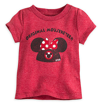 Minnie Mouse Mouseketeer Tee for Baby | Disney Store