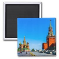 Red Square of Moscow Magnet