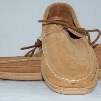 New CLARKS Men's Wallabee Tan Shoes 10M 820644