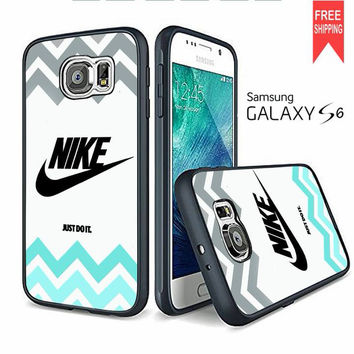 Nike Just Do It Chevron Samsung Galaxy S6 edge Case
