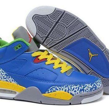 Cheap Air Jordan Son Of Mars Low Shoes Royal Blue Yellow