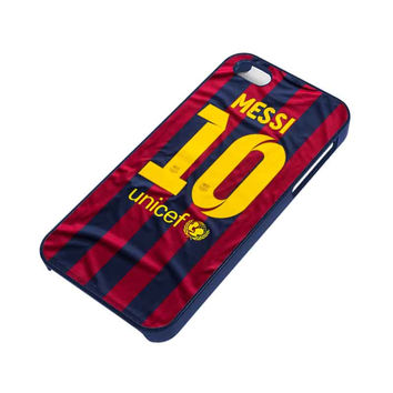 LIONEL MESSI 10 JERSEY BARCELONA iPhone 5 / 5S Case