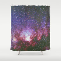 Lost in Space Shower Curtain by Beach Bum Pics