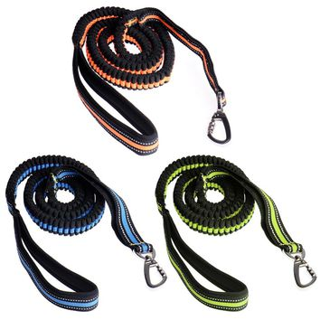 *3 Colors Reflective Dog Lead Leash Quick Release Basic Collars for Dog Cat Kitten Pup Puppy Pet Hound Lead Collar Drop Shipping