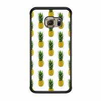 pineapple pattern psych case for samsung galaxy s6 s6 edge