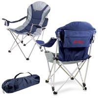 Reclining Camp Chair - Ole Miss Rebels