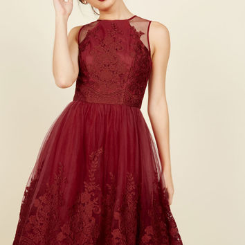 Radiant Reunion Lace Dress | Mod Retro Vintage Dresses | ModCloth.com